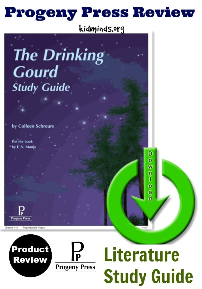The Drinking Gourd E-Guide from Progeny Press (Review)