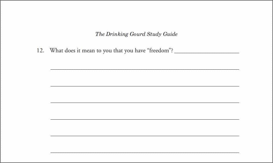 The Drinking Gourd E-Guide from Progeny Press (Review) 3