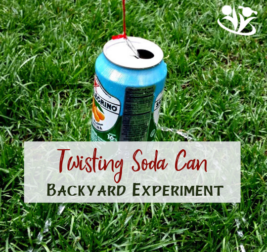 Amazing Soda Can: Backyard Summer Experiment