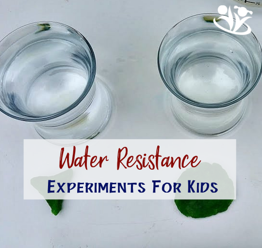 Water Resistance Experiments for Kids