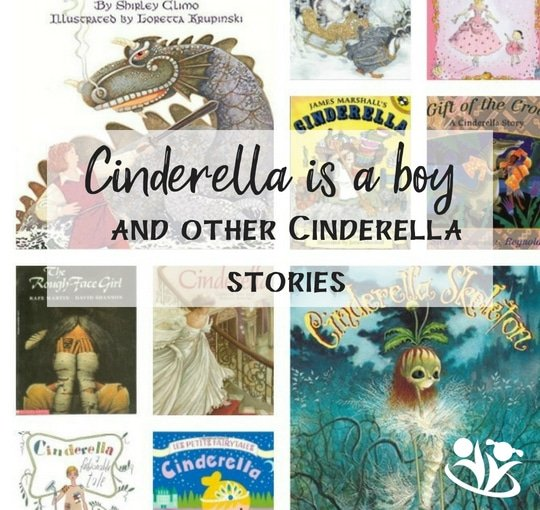 different versions of Cinderella books