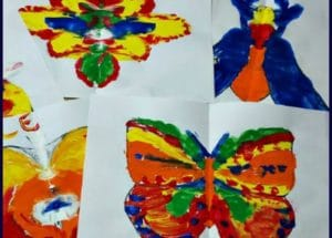 Symmetry for Little Kids Art Project with Free Printables