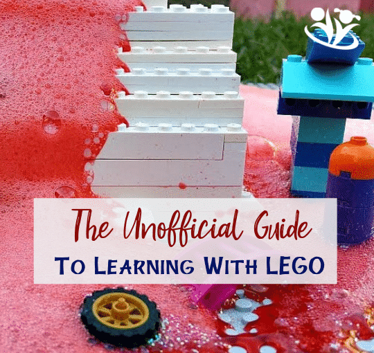 Are you looking for The Unofficial Guide to Learning with LEGO? This is it! Shift the focus from replication to imagination with those simple, fun learning ideas that will inspire hours of creative exploration. #LEGO #handsonlearning #creativelearning