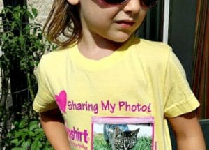 Creative T-shirts for Kids (Faceshirts Giveaway)