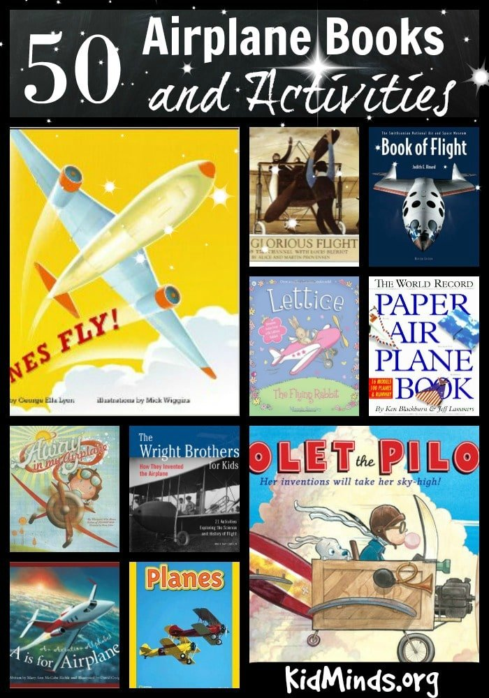 Fifty airplane Books and Activities