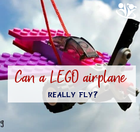 "How to make a LEGO airplane ""really"" fly"