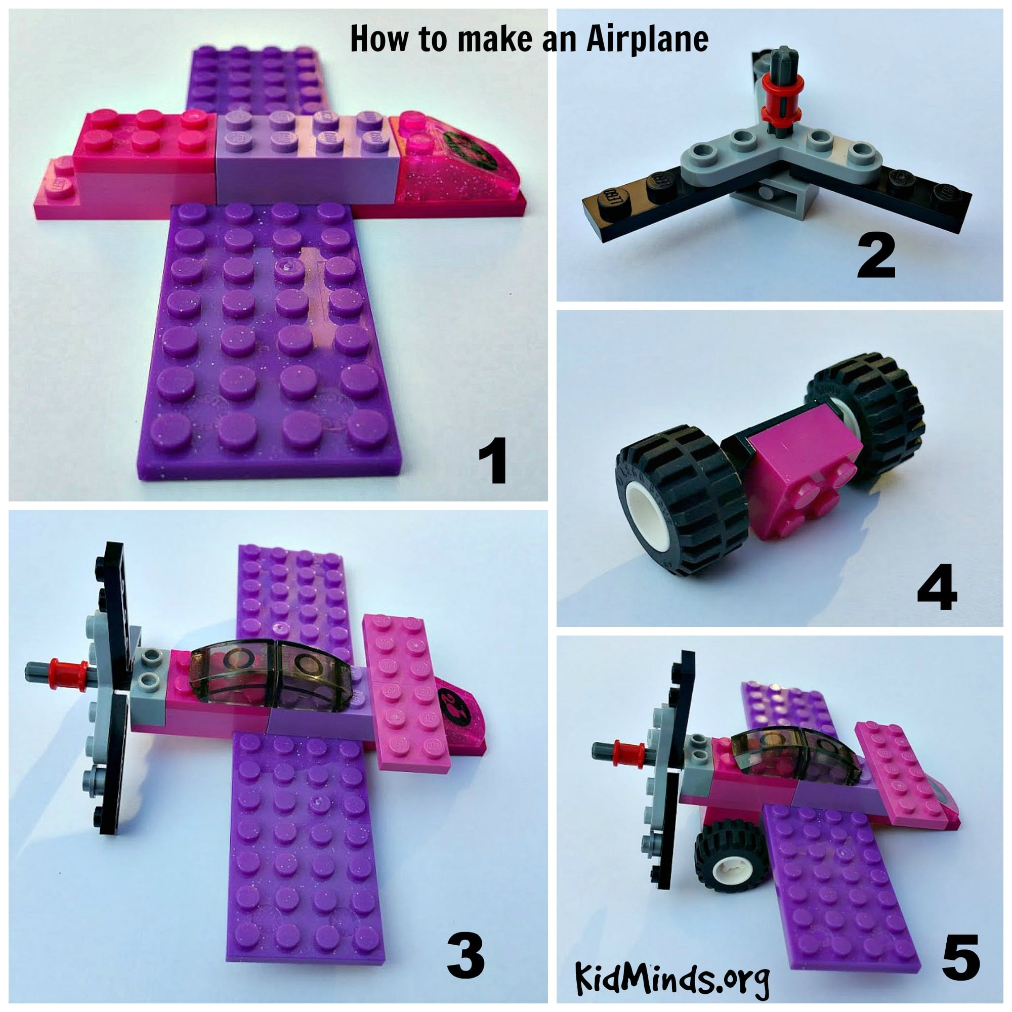 How to make a lego airplane fly9