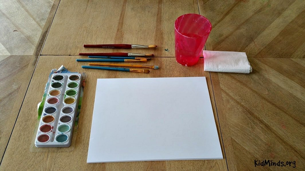 Science of Sunsets Painting Watercolor Sunsets with Kids 1