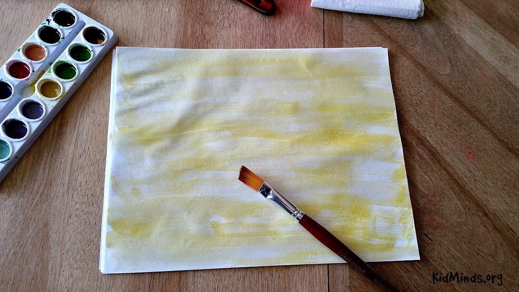 Science of Sunsets Painting Watercolor Sunsets with Kids 3