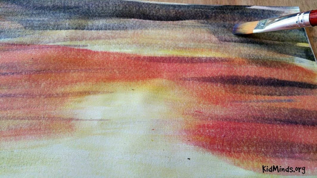 Science of Sunsets Painting Watercolor Sunsets with Kids 8