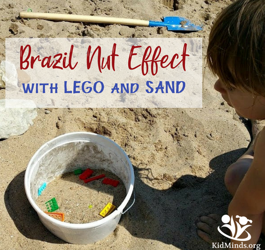 Surprising Science for kids: LEGO and Sand
