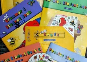 Jolly Phonics and Grammar Review