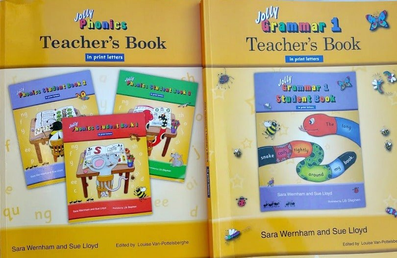Comprehensive program to teaching reading and grammar.  It's easy for kids to engage with the program for 10-15 minutes a day.  There are different activities that appeal to different learning styles.