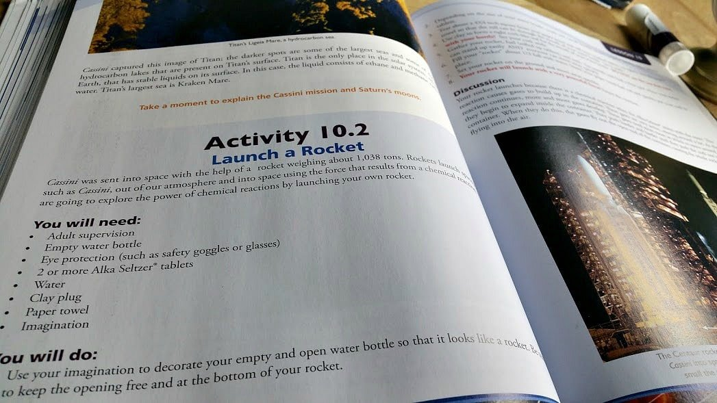 Apologia Astronomy is an amazing homeschool science curriculum for multiple ages. We loved the texbook, the journals and the science kit. Click on Read more about how we used it in our homeschool.