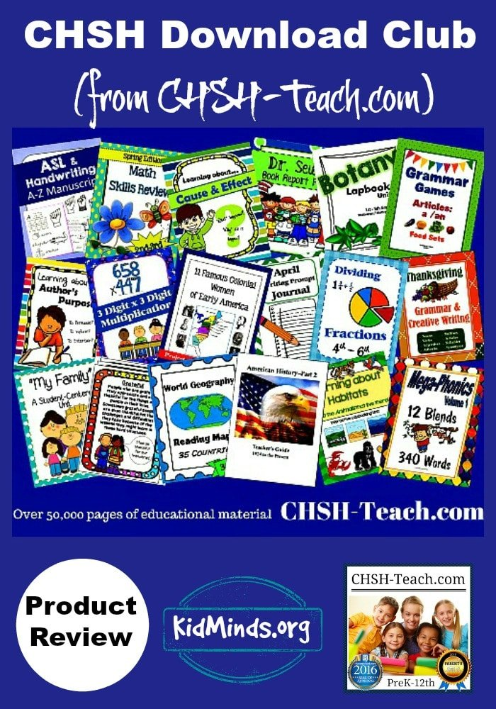 CHSH-Teach offers educational resources for all ages and stages: printables, themed packs, flashcards, games, templates, workbooks, ebooks,…