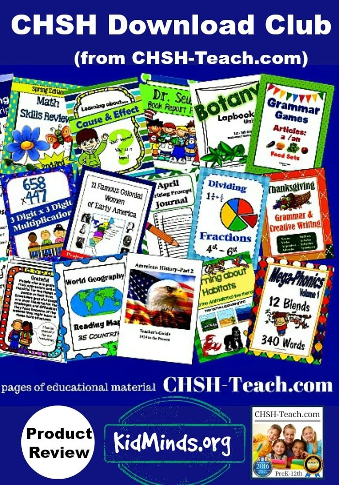 Is CHSH Download Club from CHSH-Teach.com worth the money? (TOS Review)