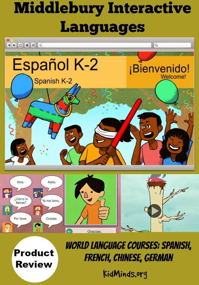 Our first adventure into the world of online #Spanish #learning was entertaining and educational.  So, if you are looking for a self-paced, #online #foreign #language program for kids, I recommend this program.  Middlebury Interactive Languages makes learning at home fun and easy.