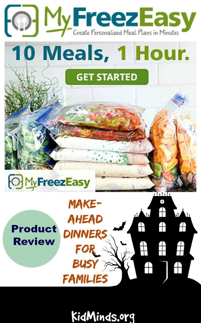 Make-Ahead Dinners for Busy Families (MyFreezEasy Review)