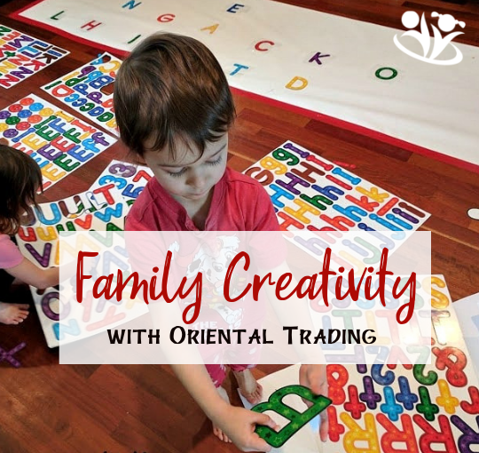 Family Creativity with Oriental Trading (Review)