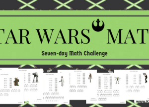 Star Wars Math: seven-day math challenge
