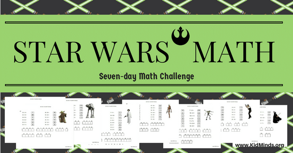 Make school a fun part of every day with Star Wars Math! Kids can practice addition and subtraction while deciphering a mystery message from Star Wars