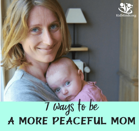 how to be a more peaceful mom #mindtools #mindful