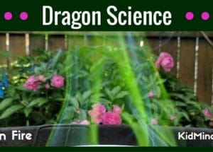 Dragon Science: Green Fire Experiment