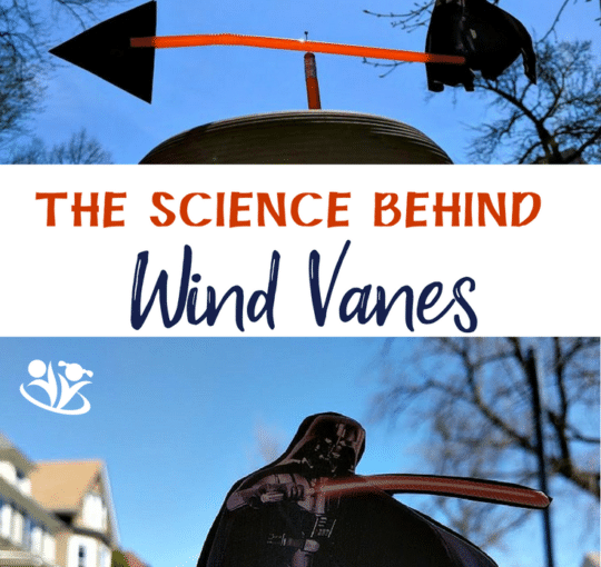 Why a Wind Vane Points Into The Wind (with Darth Vader template)