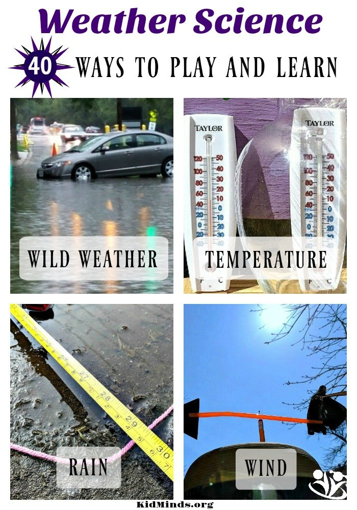 play and learn with weather #kids #science #learningthroughplay #weather