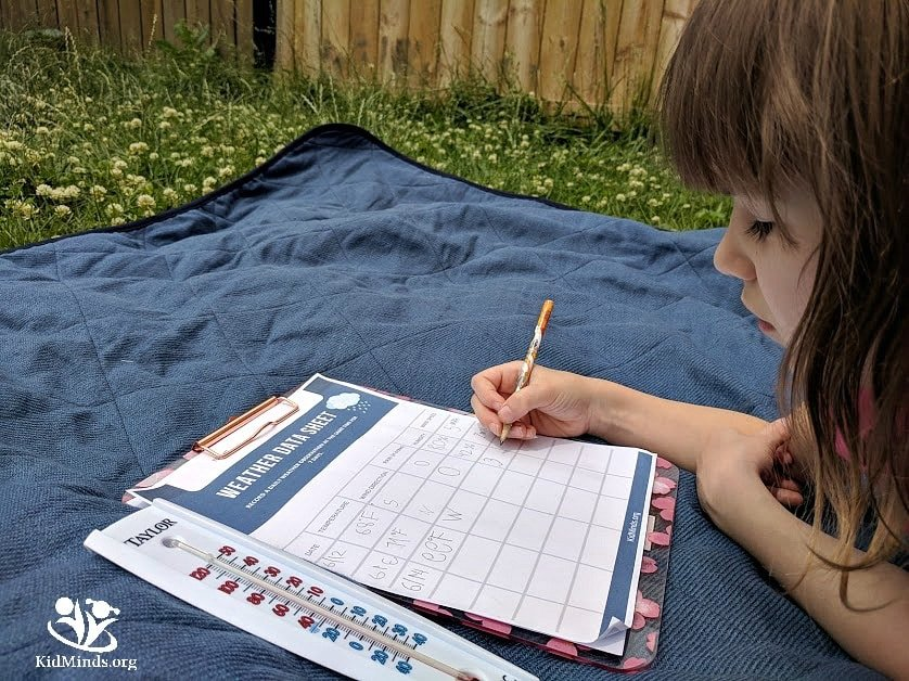 play and learn with weather #kids #learningthroughplay #weather