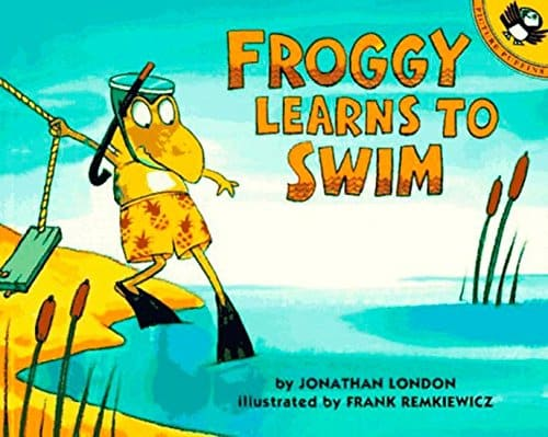 We rounded up the best books about swimming and swimming lessons. These books will get your kids swimming in no time.