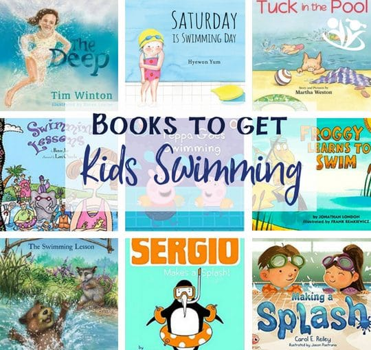 Books to get your kids swimming