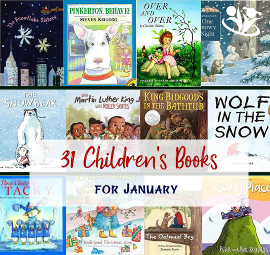 31 Children's Books for January