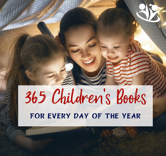 Do you ever wish there was a book suggestion for every day of the year? Do you find yourself wondering what books to check out from the library? What are the best books for each season? Or what Amazon bestselling titles would be a good fit for your kid? #kidbooks #booksforkids #childrensbooks #readersareleaders #daybydayreadingcalendar #bestbooksforkids