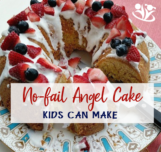 No Fail Angel Cake Recipe for When You Are in a Hurry