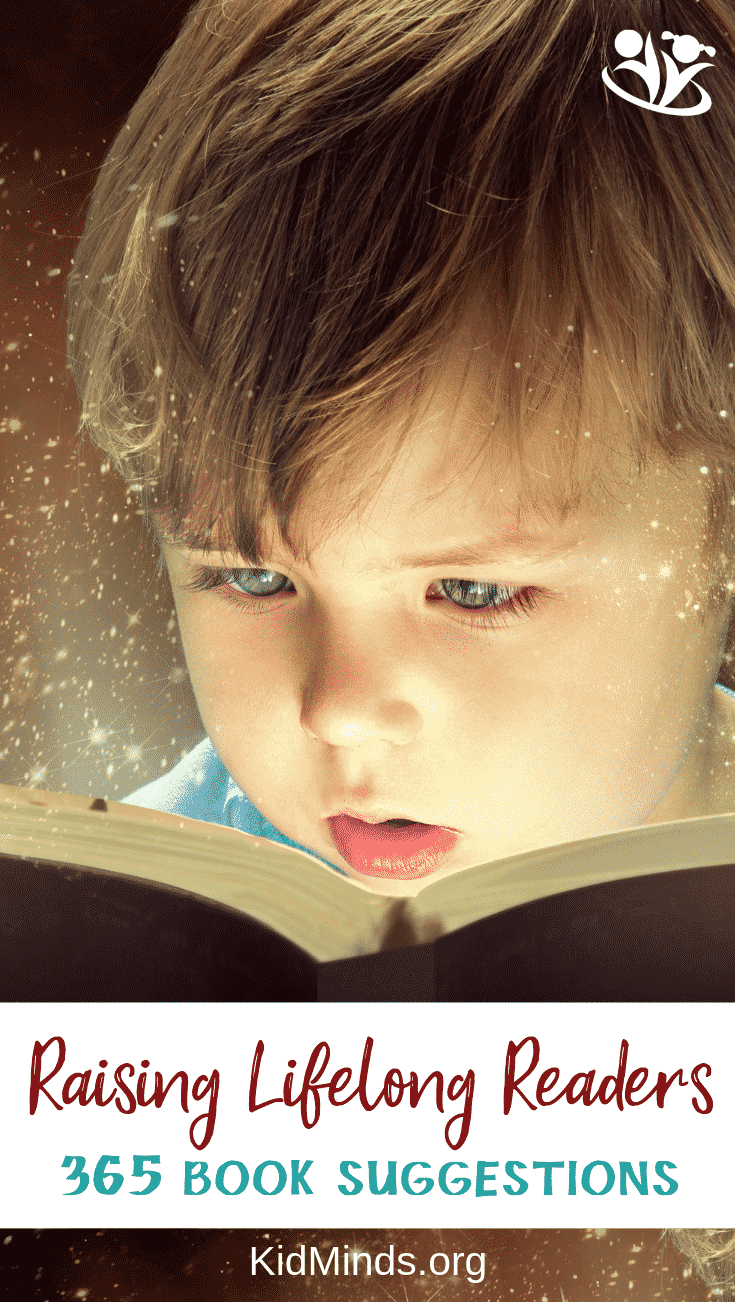 Books provide a never-ending supply of topics for discussion and activities to do together.     Reading together offers an excuse to be silly, to try out different voices, and to laugh. #kids #books #raisingreaders #reading #childrensbooks #parenting