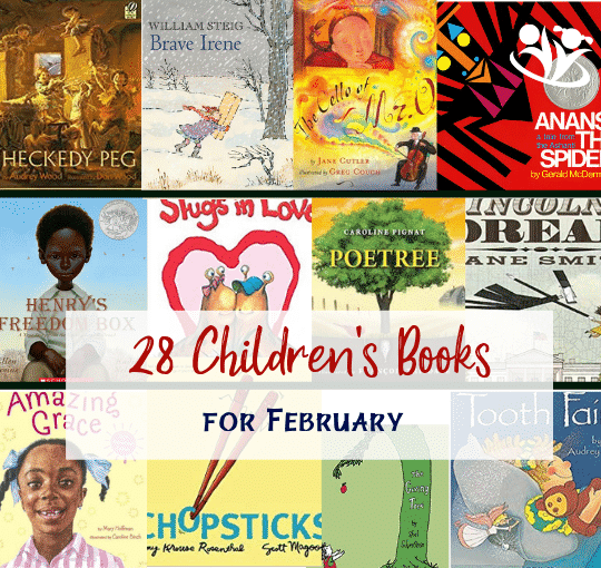 28 Children's Books for February