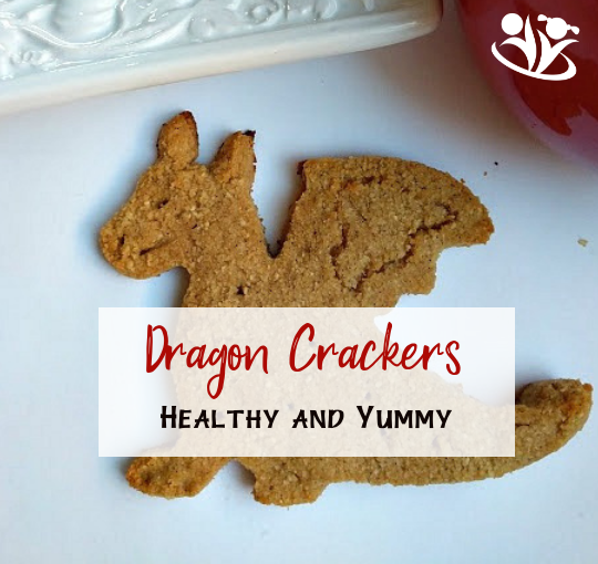 Dragon Crackers: healthy and delicious
