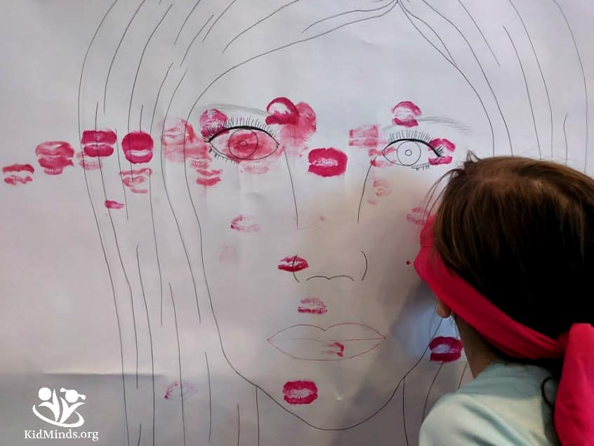 Miss Kriss Wants a Kiss is a fun game to get the whole family laughing and having a good time. Families that play together stay together. #familyfun #makingmemories #games4thewholefamily #boredombusters