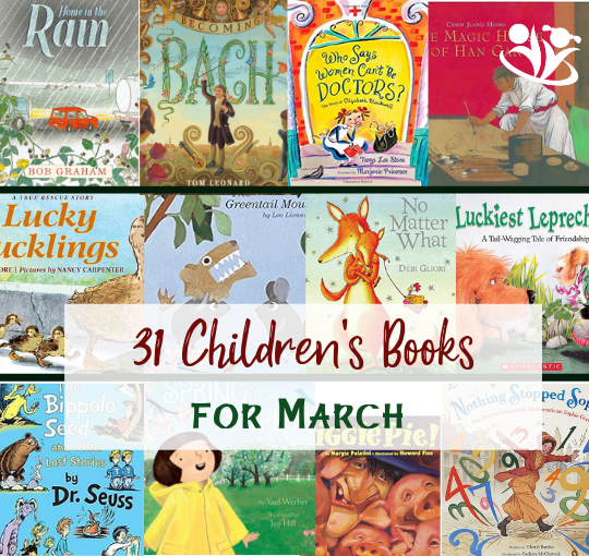 31 Children's Books for March