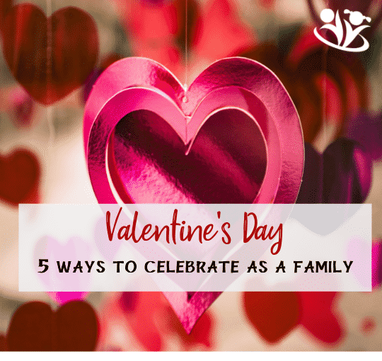 Five fun, rich and meaningful ways to create lasting memories, strengthen the bonds within your family, and celebrate Valentine's Day without candy or store-bought gifts. #valentinesday #familyfun #makingmemories #astheygrow #handsonparents
