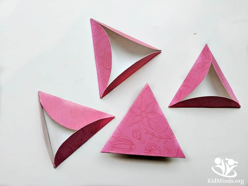Impress your friends and show love without traditional hearts. Our valentines demonstrate that math is not just mindless worksheets. Math is in everything we do. #mathvalentines #fun #valentinesday #funwithmath #papercrafts #3Dvalentines
