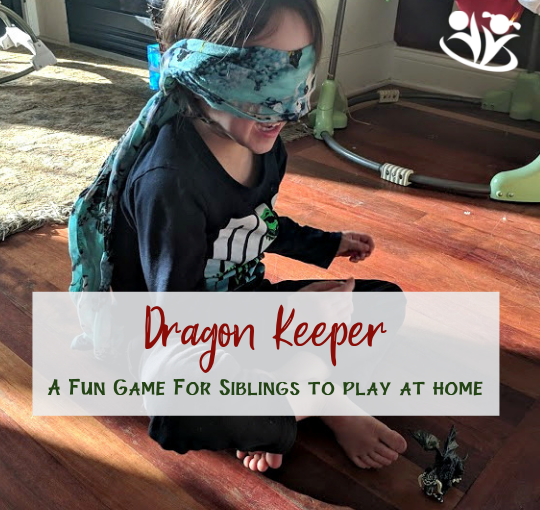Blindfold Game: Dragon Keeper
