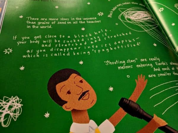 How often do you gaze up in the night sky? Jennifer Berne's Look Up With Me: Neil deGrasse Tyson is a book that will inspire you to do it more frequently. #bookreview #kidlit #childrensbooks #storytime #STEAM