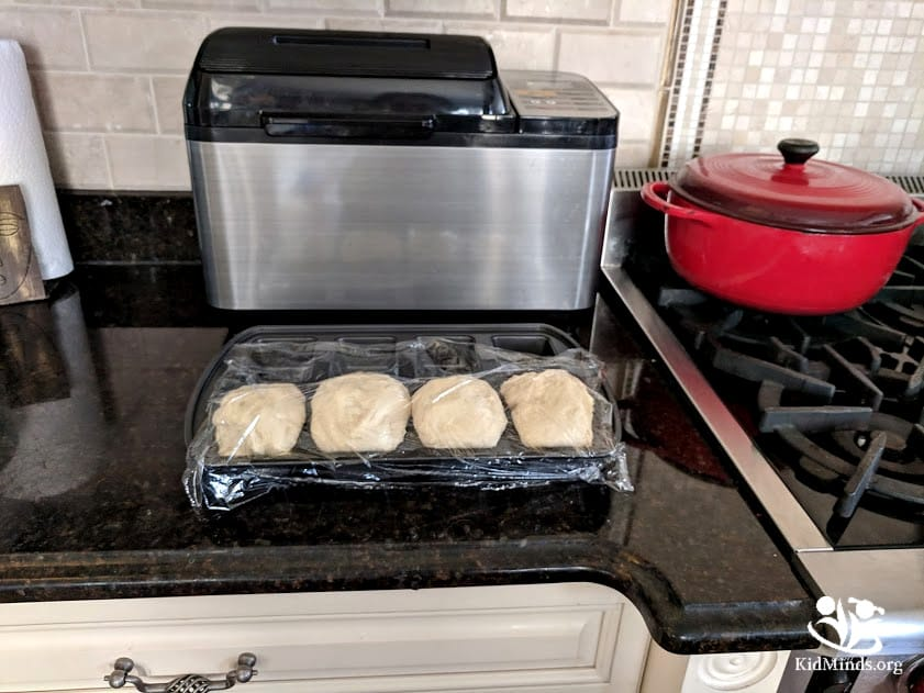 Bread in a bag is a unique twist on traditional baking methods that your kids will love to make and eat. Baking bread at home doesn't have to be messy. #bread #makingmemories #familyfun #inthebagprojects #handsonlearning #kidsinthekitchen