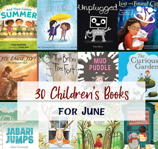30 Children's Books for June