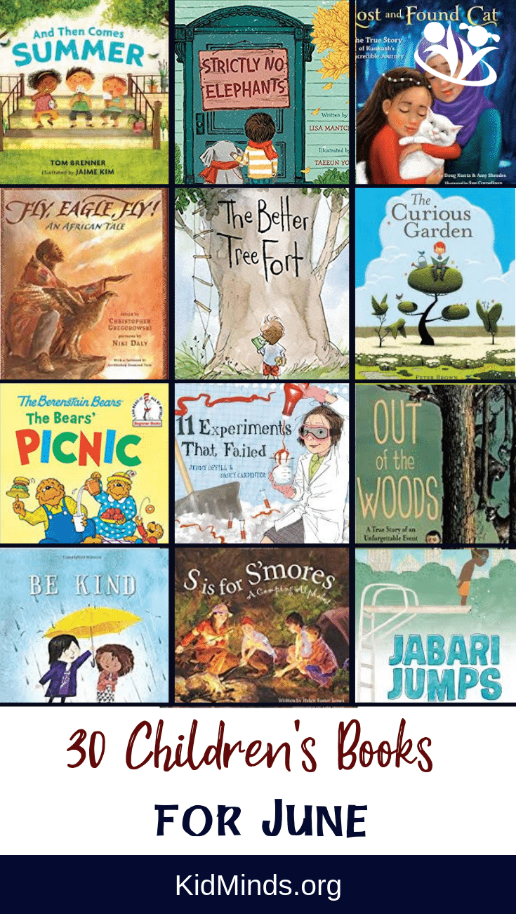 Children's book suggestion for every day in June - unforgettable stories, creative plots, and imaginative illustrations. #kidlit #kidminds #childrensbooks #creativelearning #raisingreaders #forkids #bestbooks #readalouds #storytime