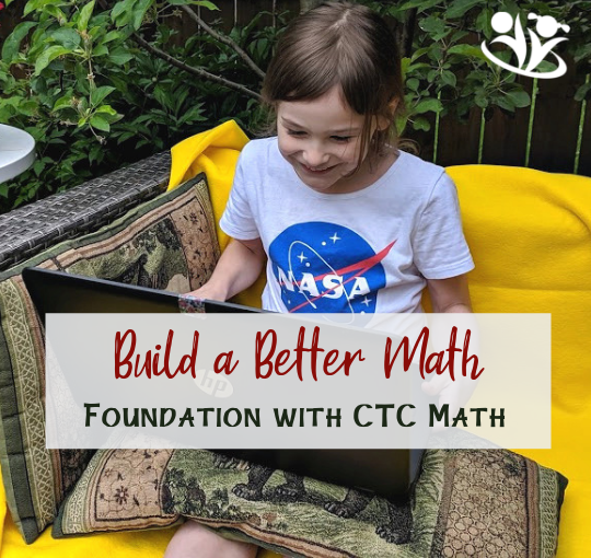 Math can be hard, especially if your child doesn't have a solid math foundation. Luckily, there is a solution to this problem. #math #CTCMath #learning #mathfoundation #kids #homeschooling #mathforkids #mathskills #learning