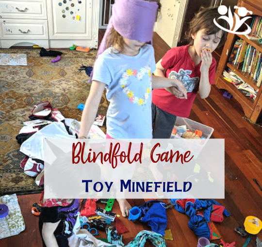 Blindfold game: Toy Minefield