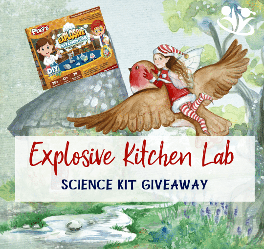 Explosive Kitchen Lab Science Kit and GIVEAWAY (Closed)
